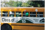 Ted Innes, was the first at our 35th kick-off event in 2000, which was a school bus in the Glenbard West Homecoming para