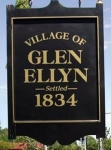 Glen Ellyn post card