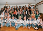 ALL CLASS PHOTO taken at 45th class reunion celebration